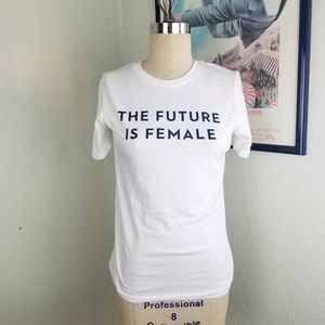 Otherwild The Future is Female Cotton Top Small